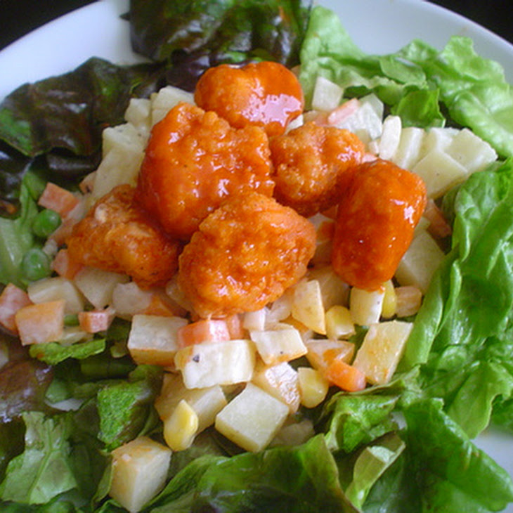 Spicy Chicken and Potato Salad Recipe