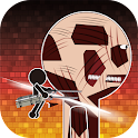 Attack on assault icon