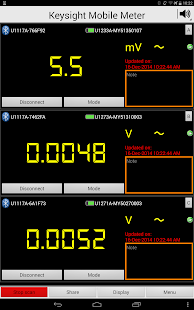 Keysight Mobile Meter- screenshot thumbnail