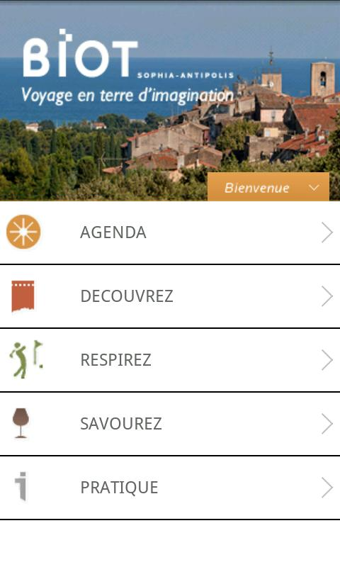 Visit Biot- screenshot
