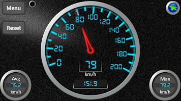 Screenshot of DS Speedometer