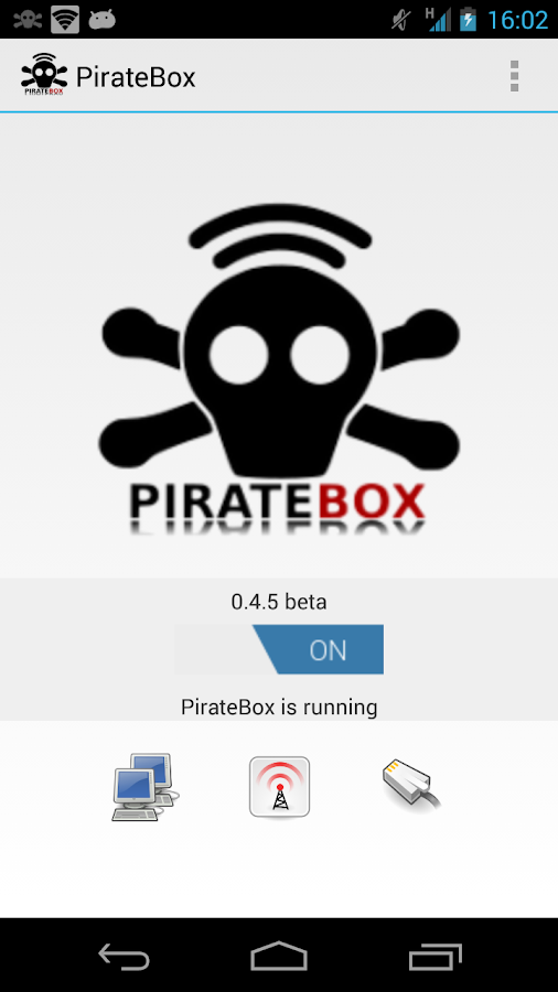 PirateBox- screenshot