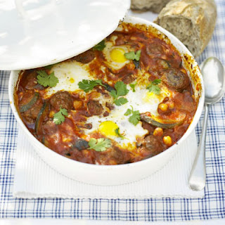 Moroccan Meatballs With Eggs.