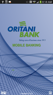 Oritani Mobile Banking- screenshot thumbnail