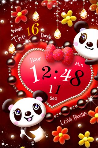Love Panda ライブ壁紙