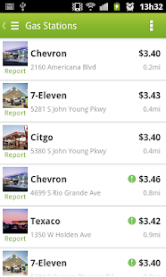 Fuelzee Cheap Gas Prices Screenshot 1
