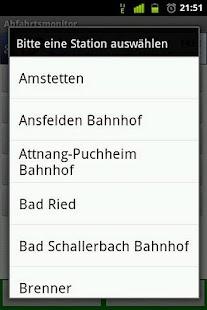 Abfahrtsmonitor - screenshot thumbnail