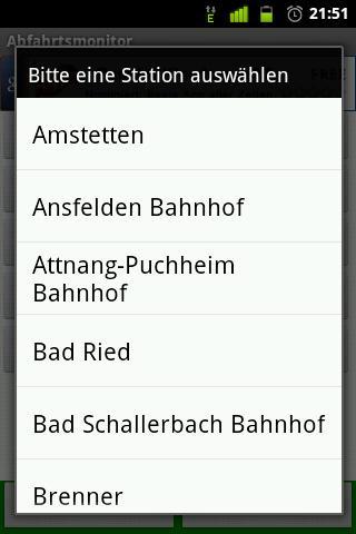 Abfahrtsmonitor - screenshot