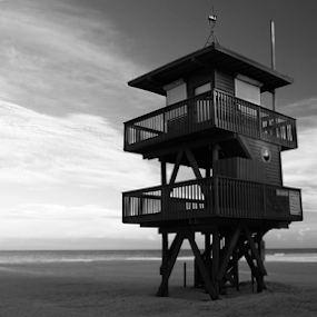 Tower by Jeremy Barton - Buildings & Architecture Other Exteriors ( sand, tower, florida, sea, bradenton, beach )