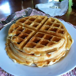Maple Drenched Fluffy Waffles Recipe