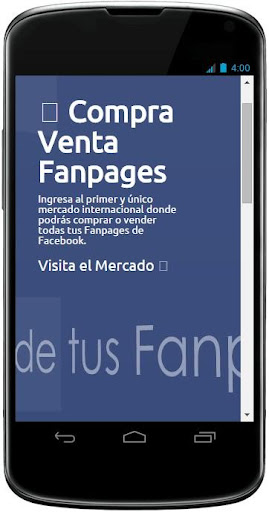 Compra Venta Fanpages Facebook