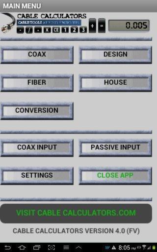 CableCalculatorsFree