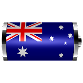 Australia- Flag Battery Widget