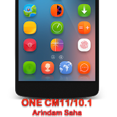 CM11/10.1 ONE Theme HD