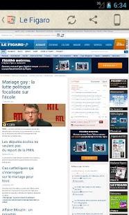 Les Journaux en Français - screenshot thumbnail