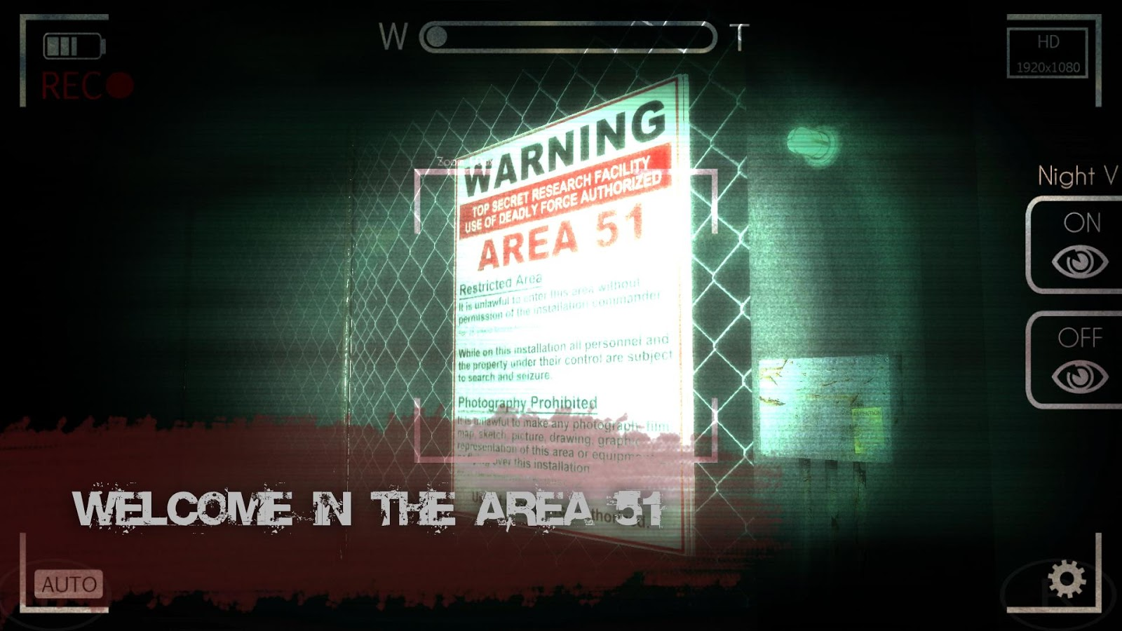 Slender Man: Area 51 - screenshot