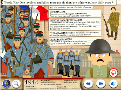 World War One - WW1 For Kids- screenshot thumbnail