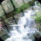 Waterfall GO Keyboard Theme