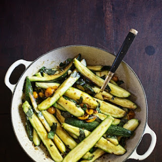 Braised Zucchini with Sun Gold Cherry Tomatoes & Basil Recipe