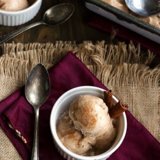Vegan Buttered Rum 'n Coconut Nog Ice cream