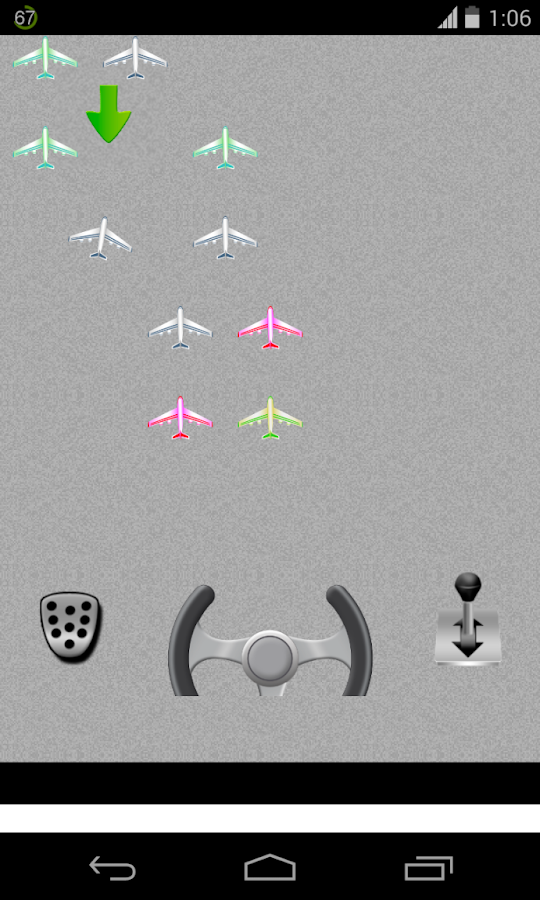 airplane parking game - screenshot