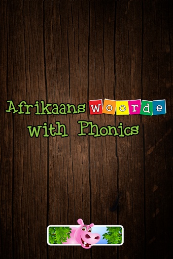First Afrikaans words