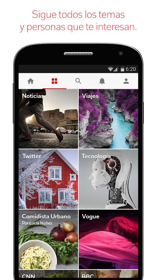 Flipboard: tu revista social - screenshot