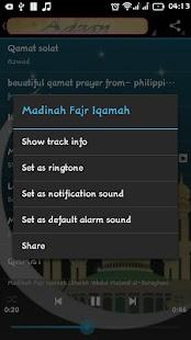 Adzan MP3 - Ringtone Solah - náhled