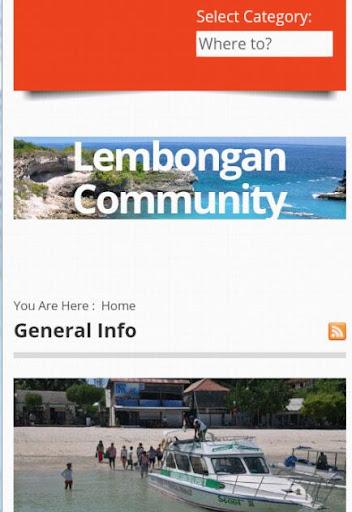Lembongan Community