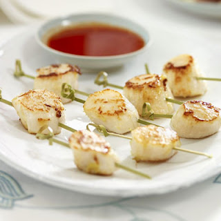 Seared Scallops With Sweet Chilli Sauce