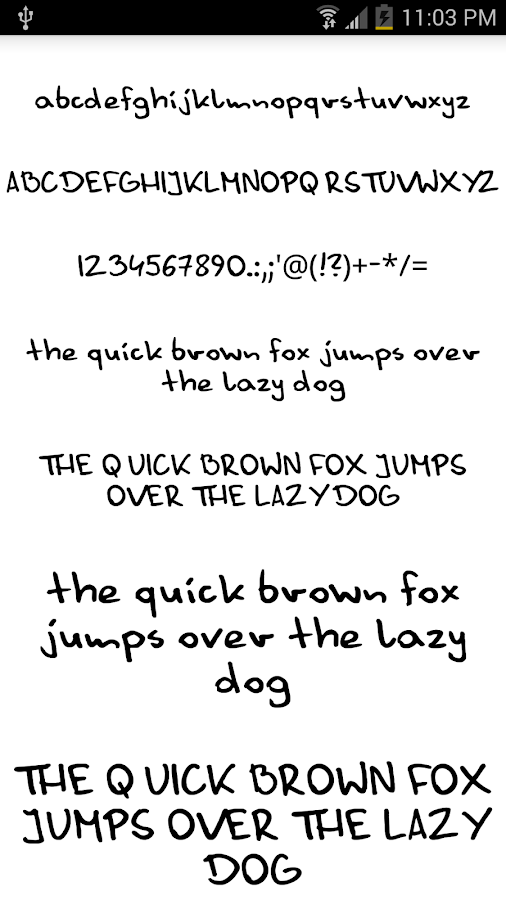 Fonts for FlipFont #14- screenshot