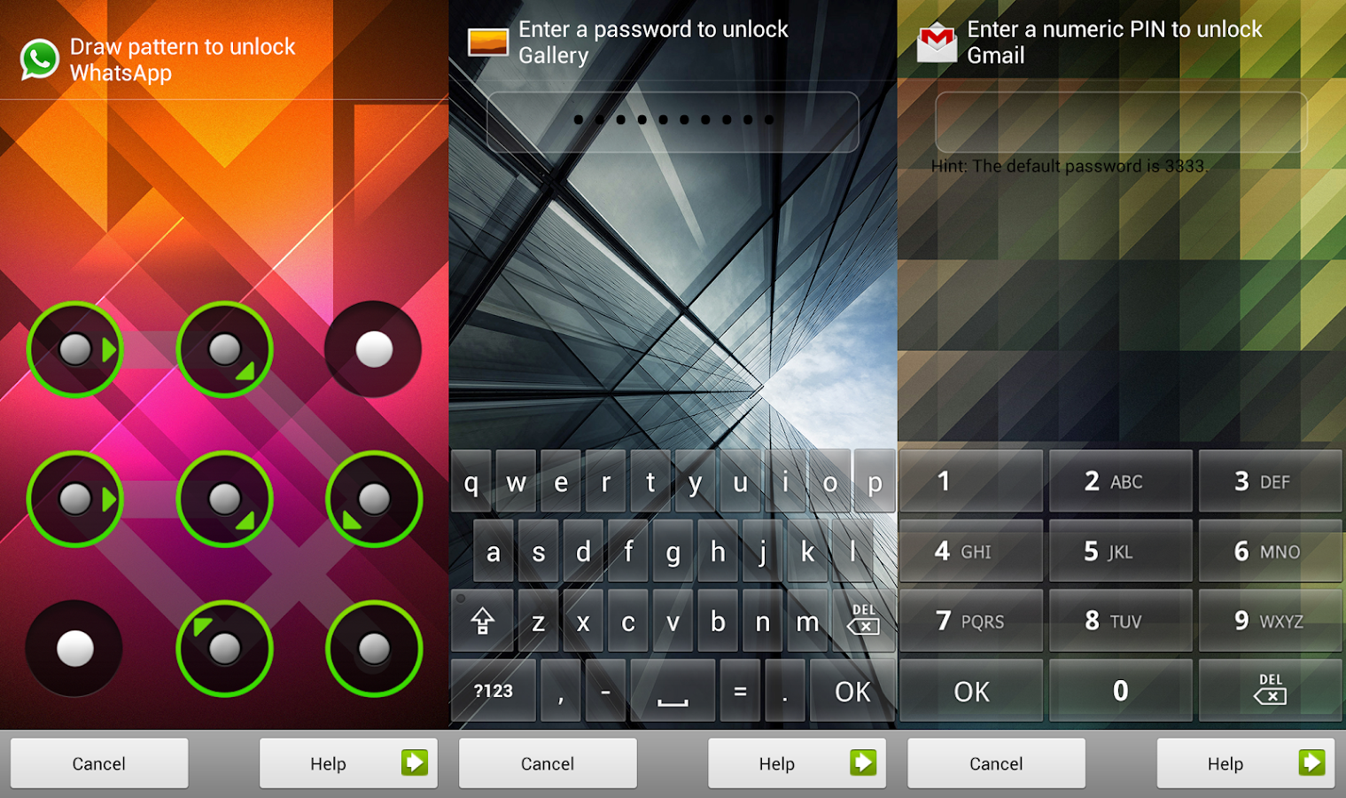 AppLock (Device Guard)- screenshot