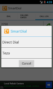SmartDial- screenshot thumbnail