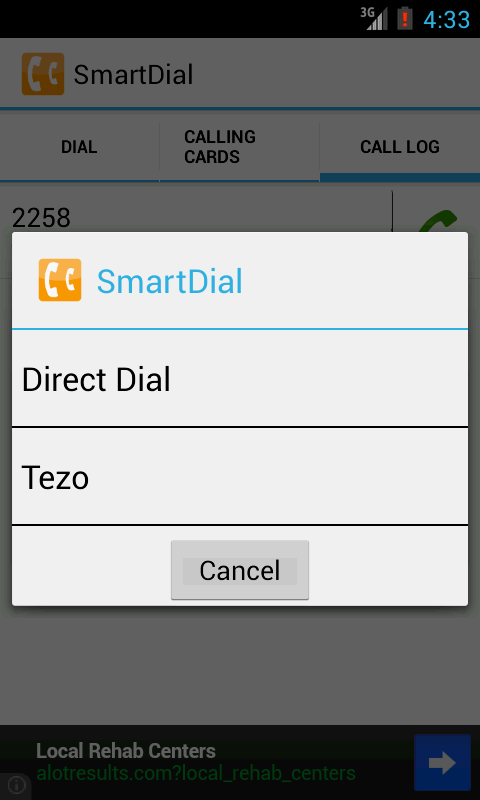 SmartDial - screenshot