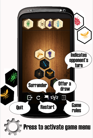 Hive™ - board game for two- screenshot