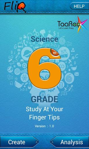 FlipQ Science Grade6 Flashcard