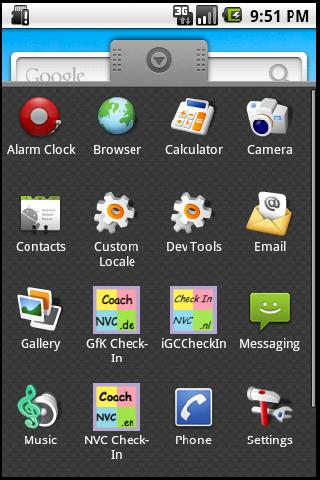 GfK Check-In - screenshot