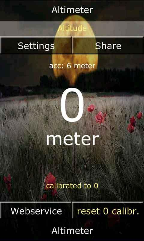 Android Altimeter Pro - screenshot