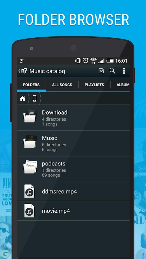 n7player Music Player - screenshot