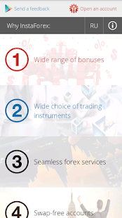 Why InstaForex? screenshot