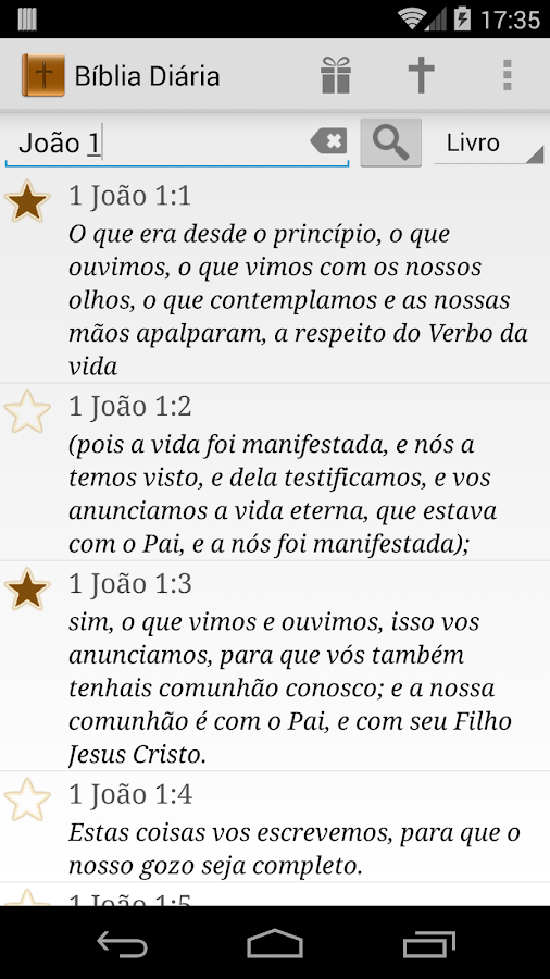 Versículo da Bíblia Diário - screenshot