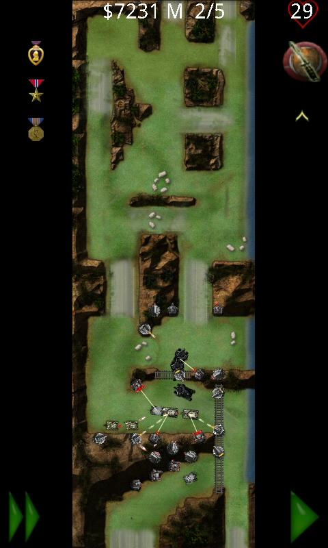 Armored Defense II Lite: Tower - screenshot
