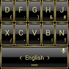 Theme TouchPal Frame Gold icon