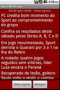 Sport Recife- screenshot thumbnail