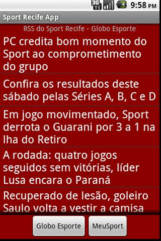 Sport Recife - screenshot