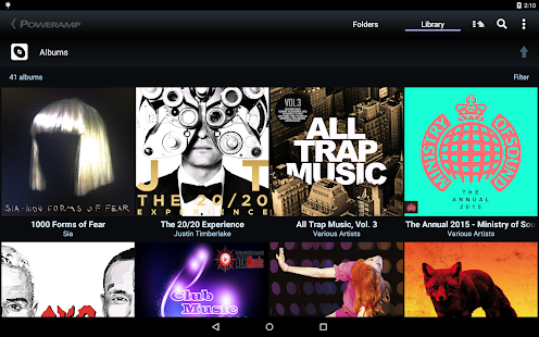 Poweramp Music Player (Trial) - screenshot thumbnail
