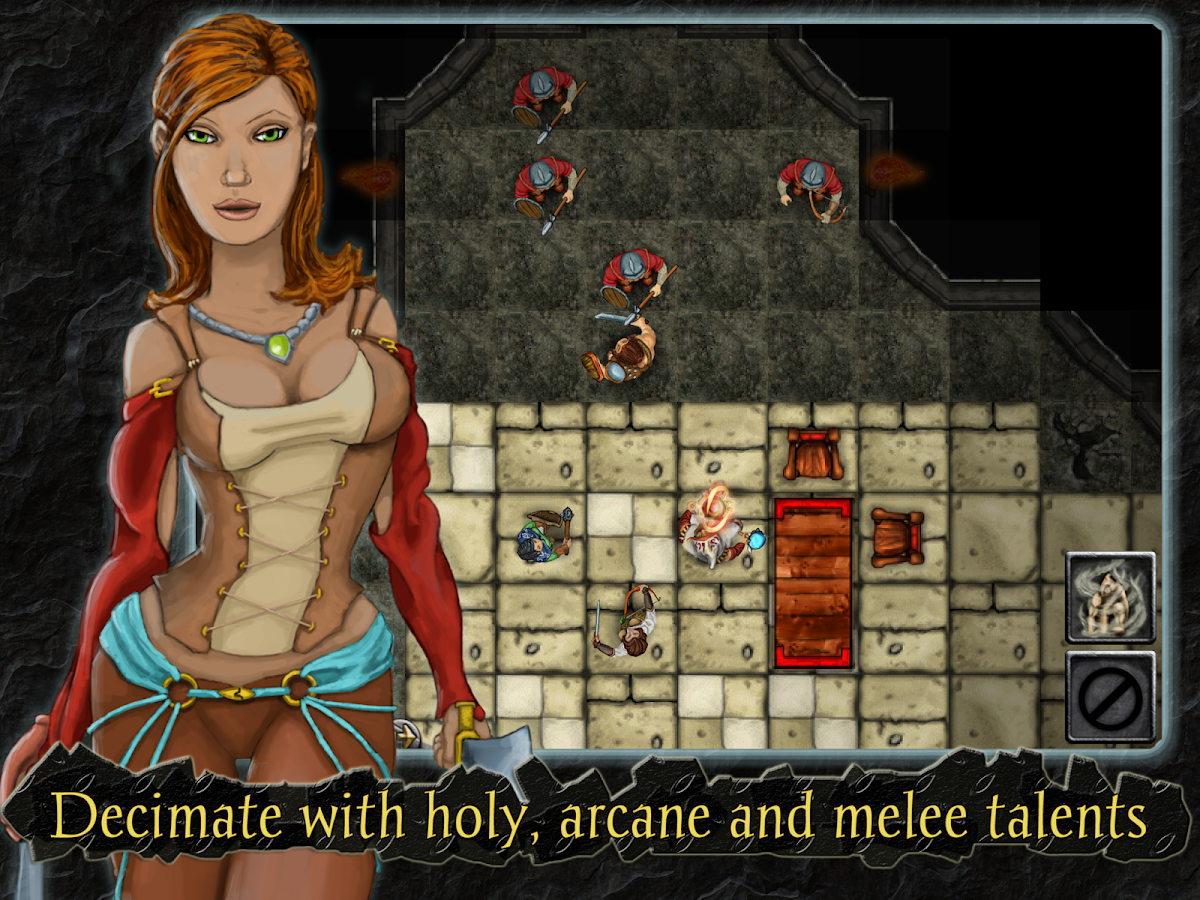 Heroes of Steel RPG Elite - screenshot