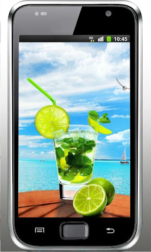 Mojito Beach HD live wallpaper