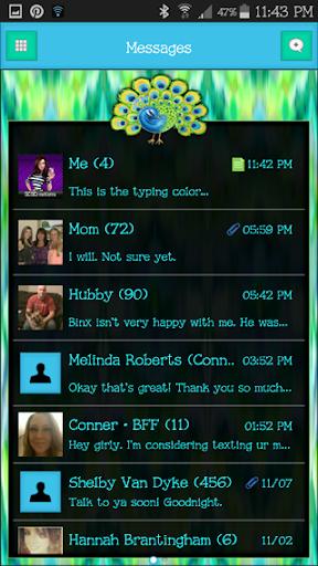 GO SMS THEME - SCS352