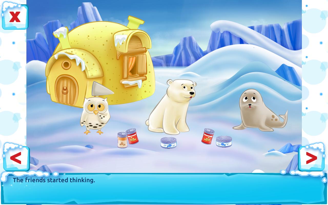 polar bear cub for kids 3 5 android apps on google play